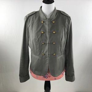 HALOGEN gray women's jacket size L